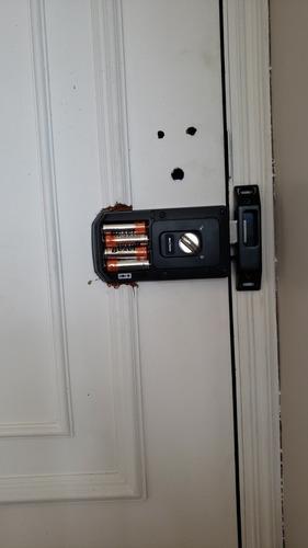 instalação de fechadura digital