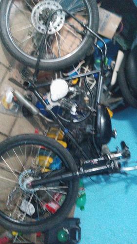 instalação de motor 2t em bicicleta