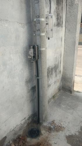 instalação de padrão light monofásico