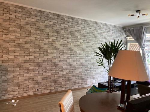 instalação de papeis de parede