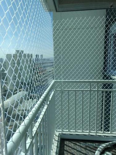 instalação de redes de proteção