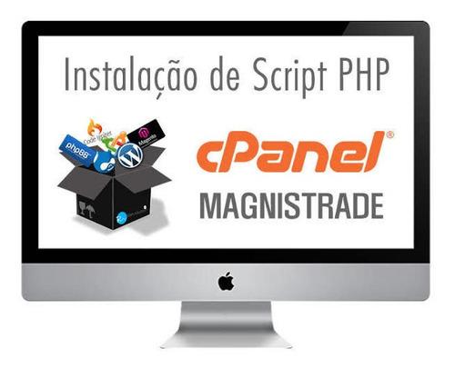 instalação de script php e mysql