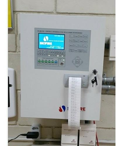 instalação de sistemas contra incêndio, telecom, cftv