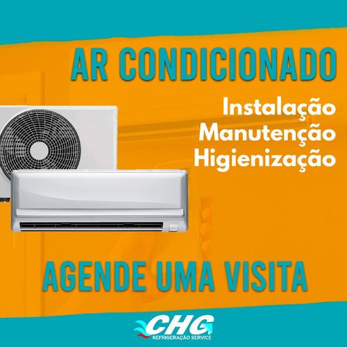 instalação e conserto de ar condicionado residencial