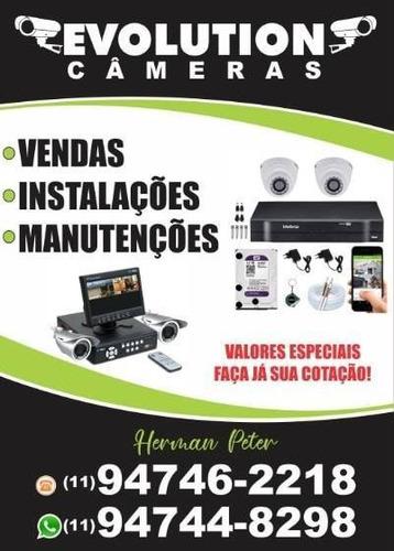 instalação e manutenção câmeras
