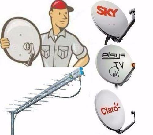 instalação e manutenção de antenas