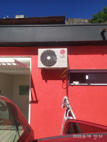 instalação e manutenção de ar condicionado .