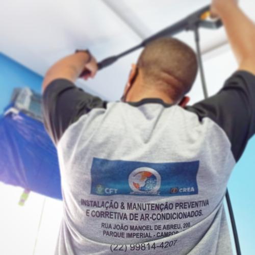 instalação e manutenção de ar condicionados e contrato pmoc