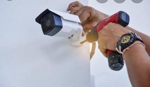 instalação e manutenção de cameras cftv