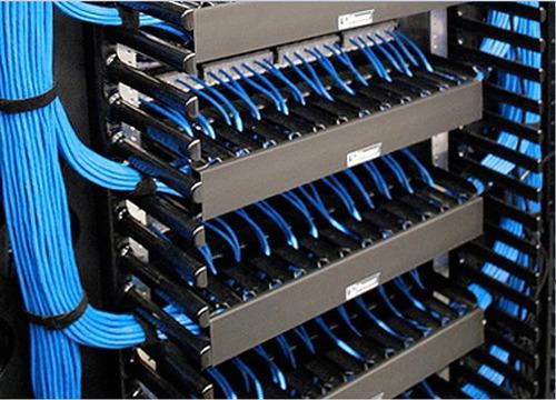 instalação e manutenção em cabeamento de dados