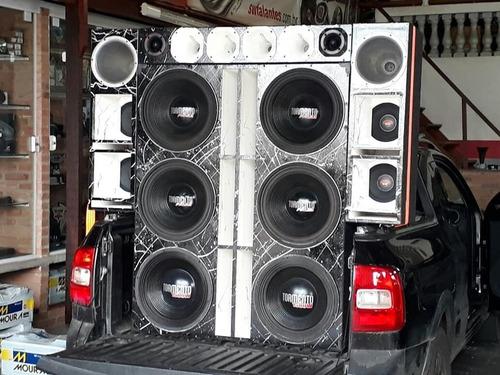instalação e venda de som automotivo (powerus a p/ entrega)