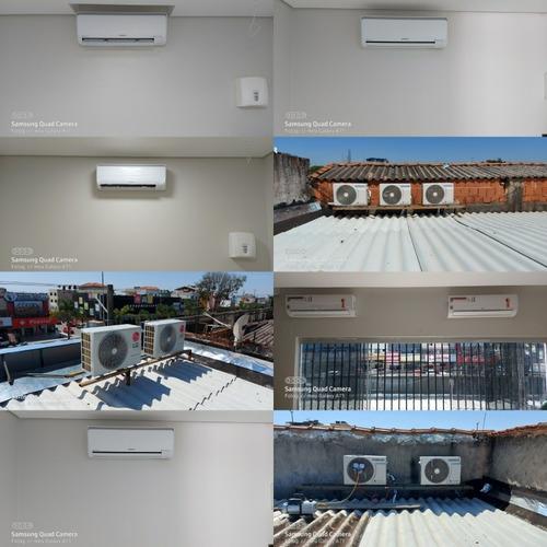 instalação, manutenção e higienizacão em ar condicionado