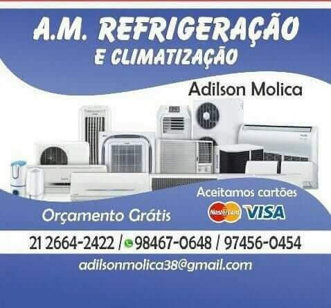 instalação, manutenção e venda de ar condicionado em geral