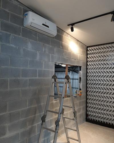 instalação,  manutenção, infraestrutura para ar condicionado
