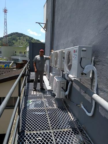instalação, manutenção, limpeza e venda de ar condicionados