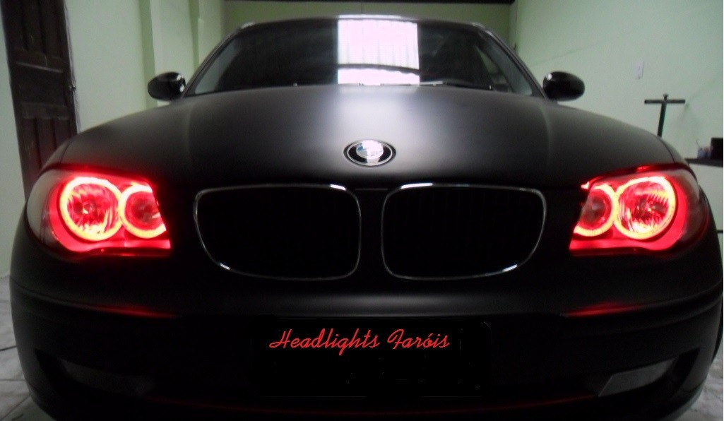 Instala 231 227 O No Farol Bmw 118 I Angel Eyes De Led Tuning R