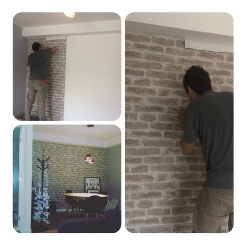 instalação/colocação/aplicador de papel de parede