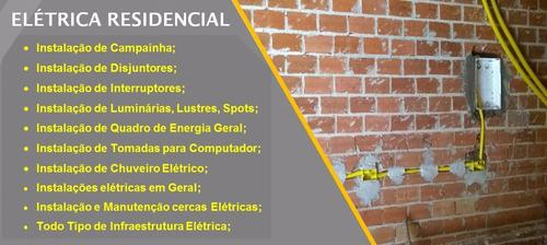 instalações e manutenções elétricas
