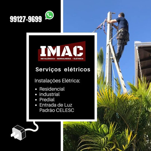 instalações elétricas residencial, industrial e predial.