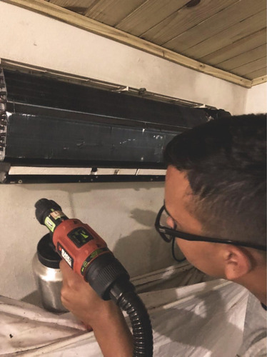 instalações, higienizações e manutenções em ar-condicionado.