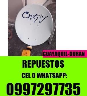 instalador antenas directv tvcable cnt univisa instalaciones