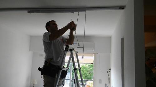 instalador cortinas roller colocador