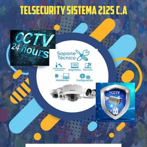 instalador de cámaras de seguridad, redes  y telefonía fija