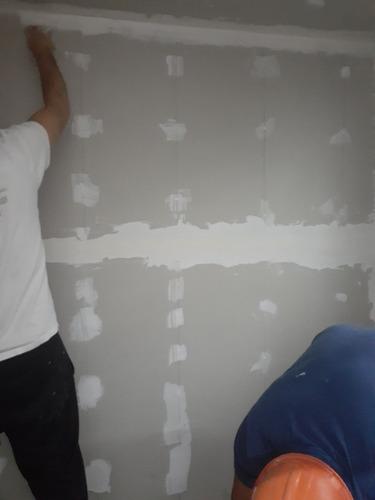 instalador de drywall. aislamientos, cielorrazos, divisiones