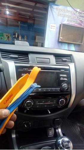 instalador profesional de audio video alarmas para vehículo