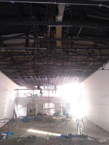 instaladores de techos pvc, policarbonato,driwal  y remodela