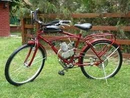 instalamos en tu bici de mujer motor y kit 65cc
