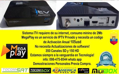 instalamos itv smart box en cualquier tv 20mil pelis hd y 4k