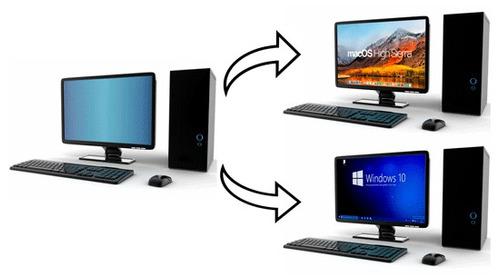 instalamos mac en tu pc ten catalina y windows dual boot