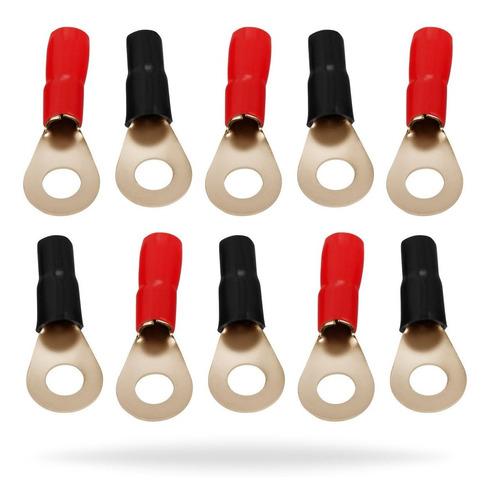 installgear calibre 10 awg anillo de presión conectores ter