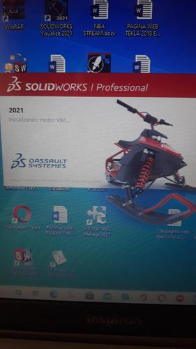 instalo linux solidworks 2021 autocad 2021 mastercam 2020