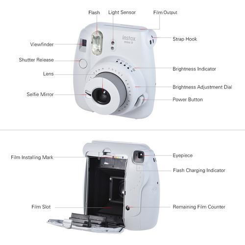 instant camera fujifilm instax verde fotografia