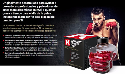 instant knockout original, stock inmediato