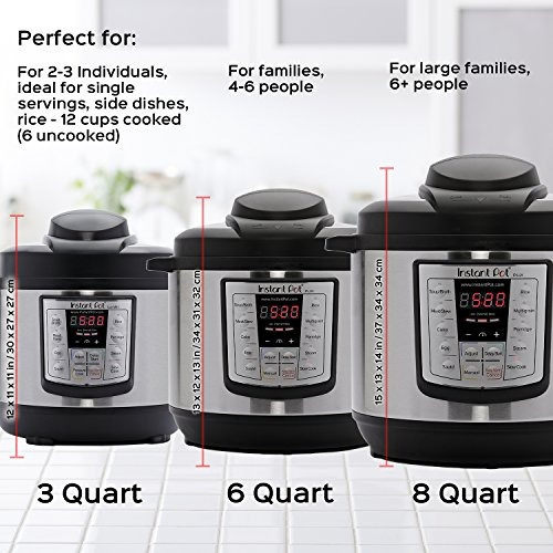 instant pot lux60 v3 6 qt 6 en 1 muti-use olla a presión pro