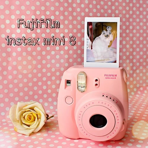 instantánea papel foto instant film fujifilm instax mini 8 9