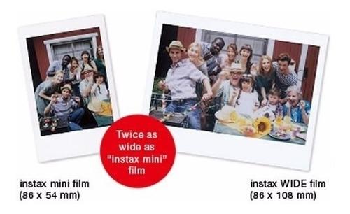 instantánea papel foto instant film fujifilm instax wide 300