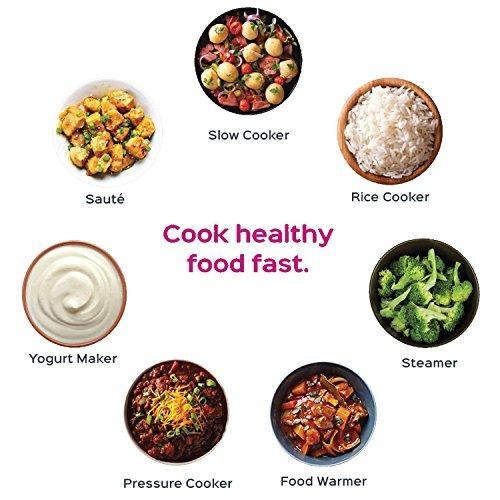 instante duo60 olla 6 qt multi-uso cocina 7-en-1 de presió
