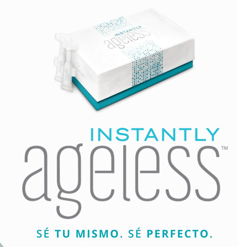 instantly ageless jeunesse viales 100% original efecto botox