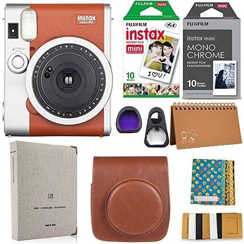 instax mini 90 cámara instantánea fuji instax film (20 hojas