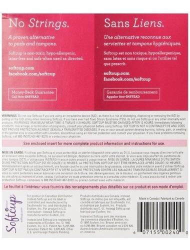 instead softcup copa menstrual copas caja 24 unidades