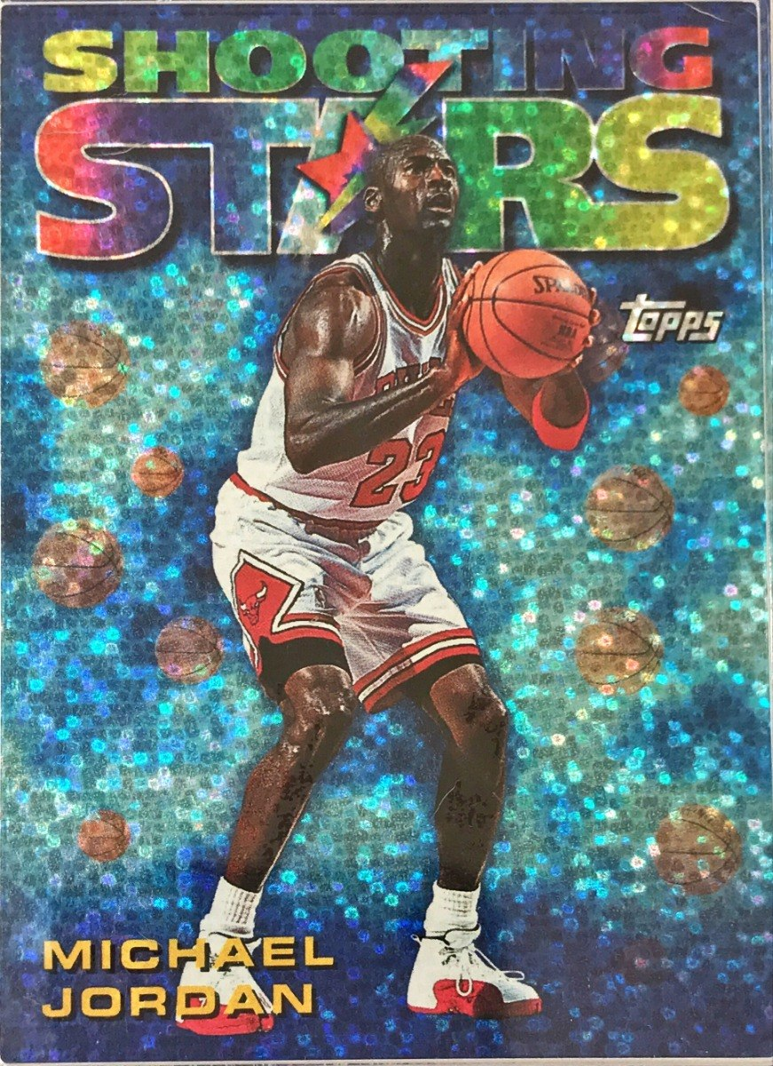 Insterto De Michael Jordan Shooting Stars