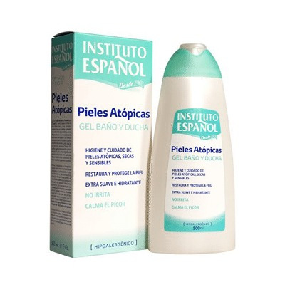 instituto español gel de baño y ducha pieles atópicas 500ml