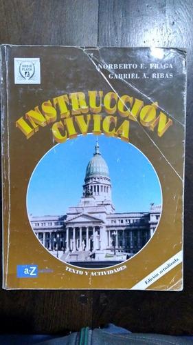 instrucción cívica fraga ribas az serie plata