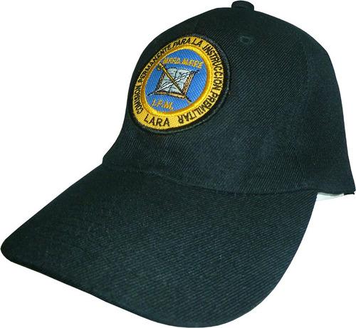 instrucción premilitar gorras bordadas para todos los edos.