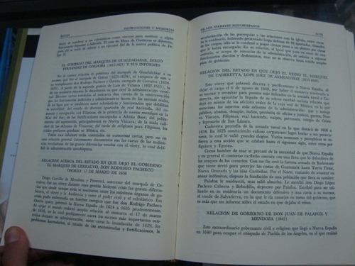 instrucciones y memorias de los virreyes novohispanos - erne