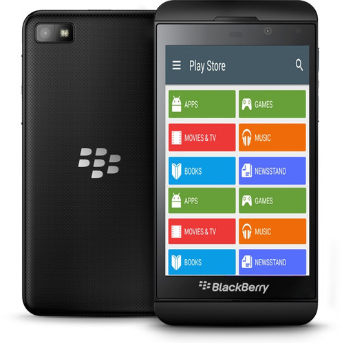 instructivo blackberry 10 (playstore android)
